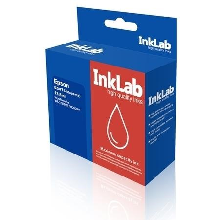 InkLab 34 XL Epson Compatible Magenta Replacment Ink