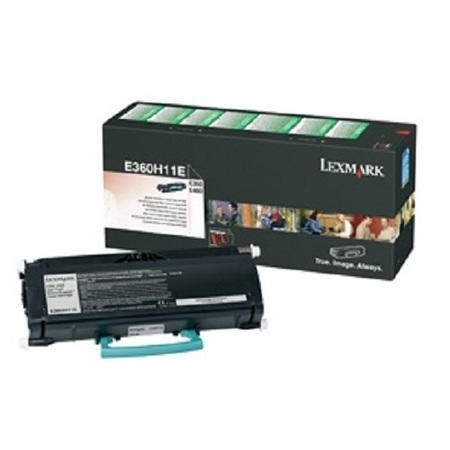 Lexmark Toner cartridge - High Yield - 1 x black - 9000 pages - LRP