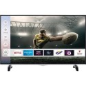 "E58UHDHDRSQ electriq 58"" 4K LED HDR Smart Alexa TV with Freeview Play"