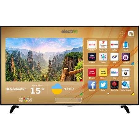 "electriQ 65"" 4K Ultra HD Dolby Vision HDR LED Smart TV with Freeview HD and Freeview Play"
