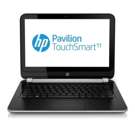 Refurbished Grade A3 HP Pavilion TouchSmart 11-e001sa AMD A4-1250 8GB 500GB 11.6 inch Touchscreen Windows 8 Laptop in Black
