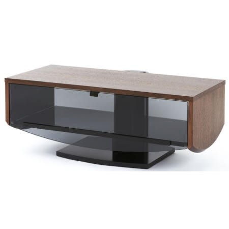 Off The Wall Eclipse 1000 Walnut TV Cabinet - Up to 55 Inch
