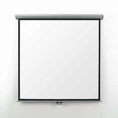 Metroplan Eyeline Manual Wall Screen - projection screen White