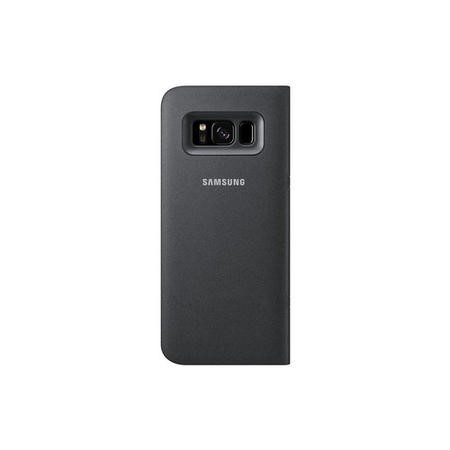 NG950PBE LED View Cover for Galaxy S8 Black