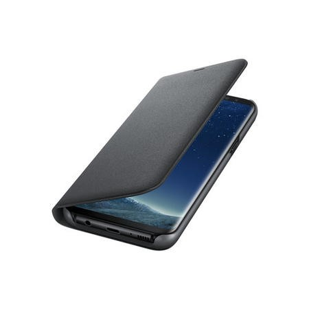 NG955PBE LED View Cover for Galaxy S8 Plus Black