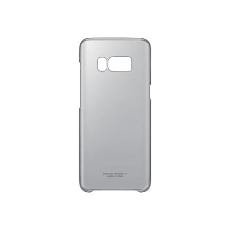 QG950CBE Clear Cover for Galaxy S8 Black
