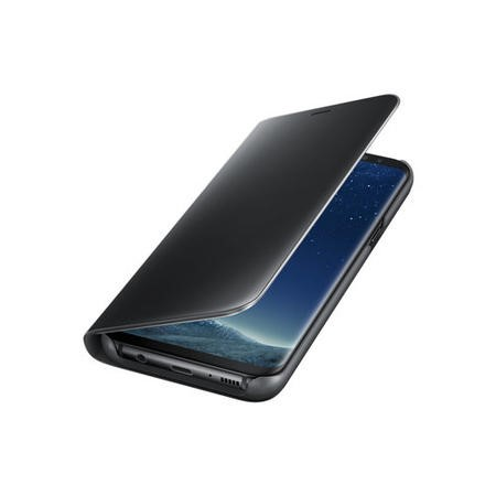 Samsung Clear View Standing Cover for Galaxy S8 Plus - Black