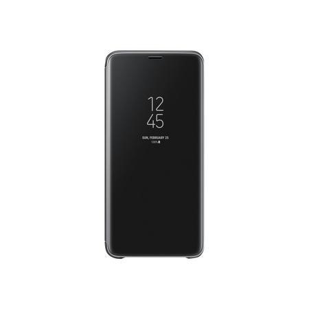 Official Samsung Galaxy S9+ Clear View Standing Cover - Black