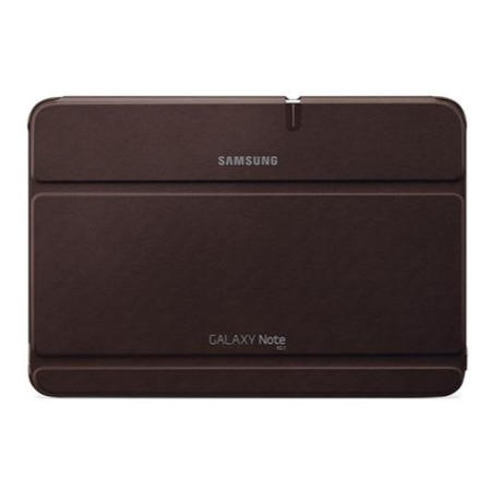 Samsung Clip-on Leather Case for Galaxy Note 10.1 Amber Brown