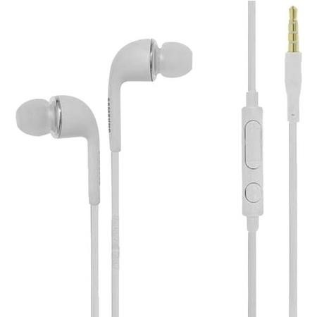 Genuine Samsung Stereo 3.5mm White Handsfree Earphones s3 s4 s5