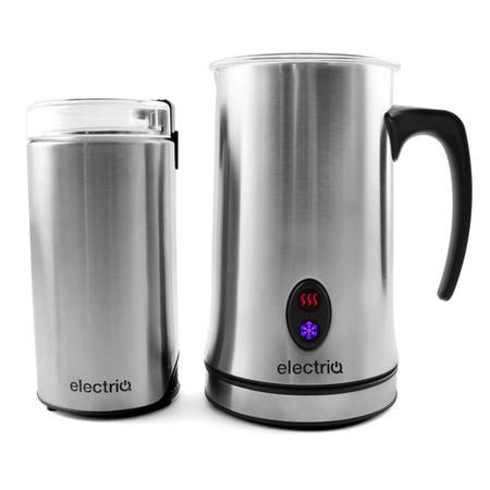 electriQ Coffee Grinder and Milk Frother - EIQFROGRIPK
