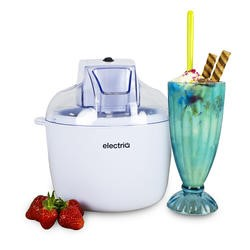 electriQ Ice Cream and Sorbet and Frozen Yoghurt Machine 1.8 litre