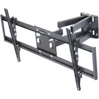 "Multi Action Movement Articulating TV Wall Bracket with Spirit Level for 65 - 90"" TVs - Universal VESA up to 800 x 400mm and 45KG Load"