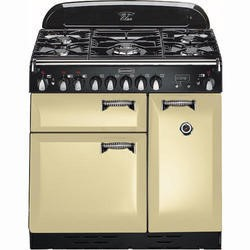 Rangemaster 72920 Elan 90cm Dual Fuel Range Cooker in Cream & Chrome