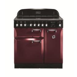Rangemaster 101180 Elan 90cm Electric Range Cooker With Induction Hob - Cranberry