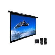 ELECTRIC100V-WHITE Elite Screens Spectrum 100V Projection Screen