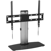 "electriQ Table Top TV Pedestal Stand for TVs up to 65"" with VESA upto 600 x 400"