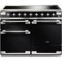 Rangemaster ELS110EIGB 100320 Elise 110 Electric Range Cooker With Induction Hob In Gloss Black