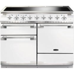 Rangemaster ELS110EIWH 100370 Elise 110 Electric Range Cooker With Induction Hob In White
