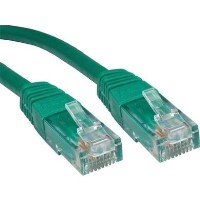 Cables Direct 10 x 5m Green