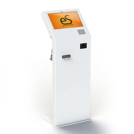 EntrySign Xpress Free-standing Education Kiosk System