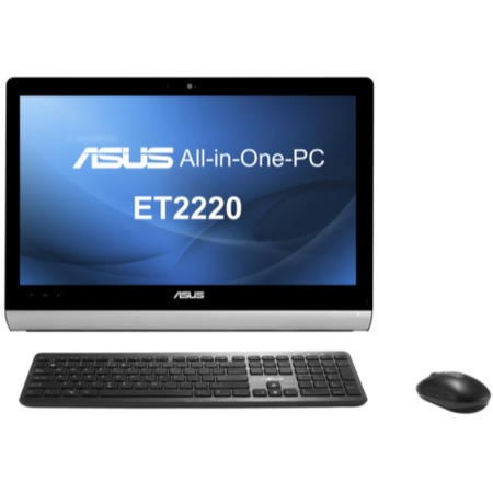 "Asus ET2220IUTI All-In-One Desktop - Core i3-3220T 8GB 2TB Blu-Ray 21.5"" Touch Windows 8 All In One Desktop"