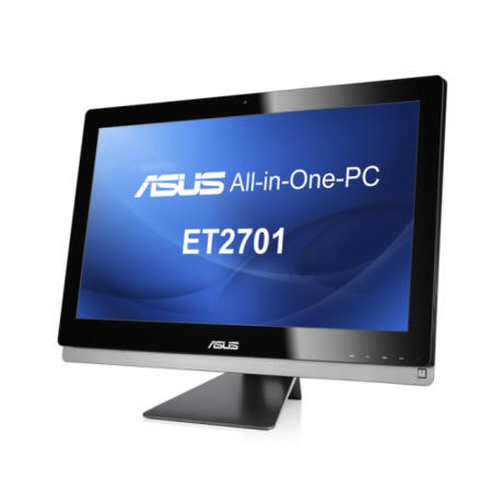 "GRADE A1 - As new but box opened - Asus ET2701IUTI-B003 Intel Core i3-3220  27"" 10 Point Capacitive Touch Screen  6GB 1TB  Blu-Ray Windows 8 All In One"