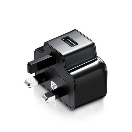 Samsung USB Plug 2 Amp Power Adapter Black