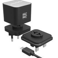DigiPower Dual Port USB Fast Charger with micro-USB Cable