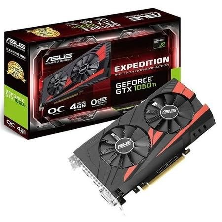 ASUS Expedition GeForce GTX 1050 Ti 4GB GDDR5 OC Graphics Card