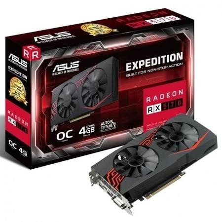 ASUS Expedition Radeon RX 570 4GB GDDR5 OC Graphics Card