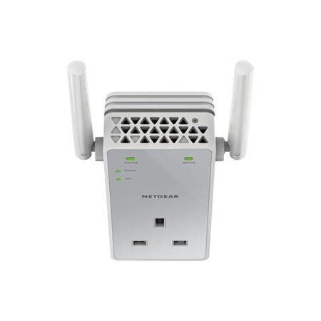 N750 WiFi Range Extender + Extra Outlet