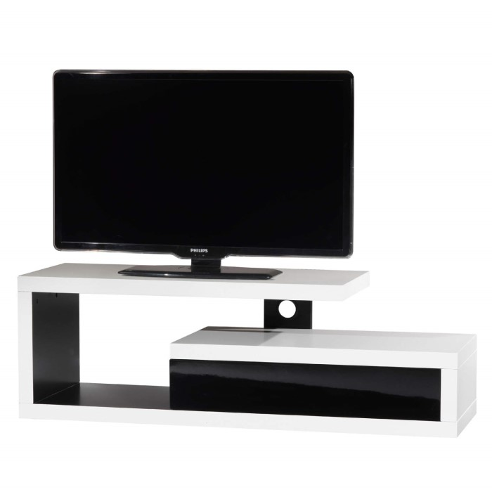 Ateca Graphique 1400 White Tv Stand Up To 50 Inch Laptops Direct