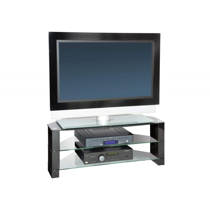 Peerless Manhattan 1000 Black Tv Stand Up To 42 Inch Laptops Direct