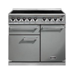 Falcon 98220 - 1000 Deluxe 100cm Electric Range Cooker With Induction Hob - Stainless Steel