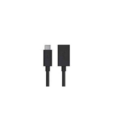 Belkin USB-C to USB A 3.0 Adapter 1.5Amp - Black