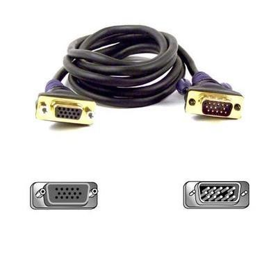 Belkin VGA Monitor Extension Cable HDDB15 Male over Female 3m