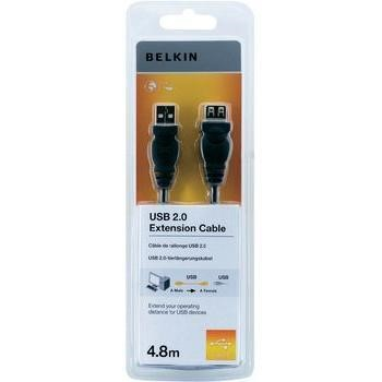 Belkin USB Extension Cable USBA-USBA Charcoal 4.8m
