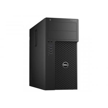 F6R8F Dell Precision T3620 Core i5-7500 8GB 1TB DVD-RW Windows 10 Pro Desktop