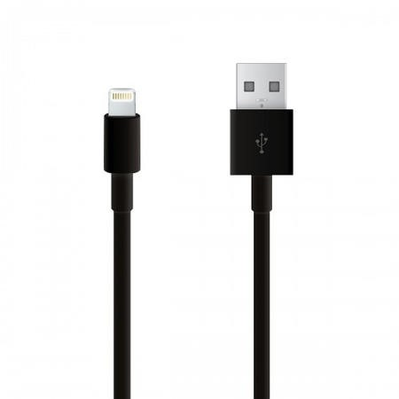 Belkin 2m Charge and Sync Cable for Apple iPhone and iPad in Black