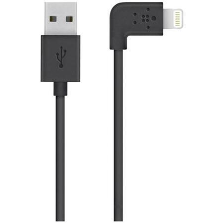 F8J147BT04-BLK Belkin MIXIT 90° Lightning to USB Cable 1.2M - Black