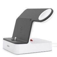 Belkin PowerHouse Charge Dock for Apple iPhone & Apple Watch - White