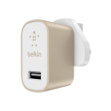 F8M731drGLD Belkin Premium MixIt Mains Charger - Gold