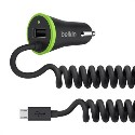 F8M890bt04-BLK Belkin BOOSTUP Universal Car Charger with Micro USB Cable