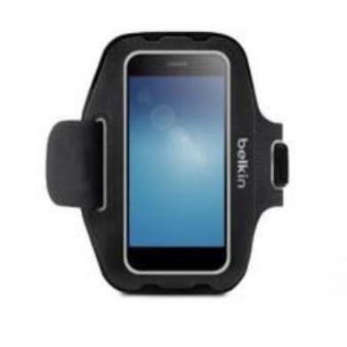 Belkin Universal Sports Fitness Armbands for Smartphones - Black