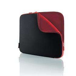 "Belkin 17.3"" Laptop Slip Case - Black Red"