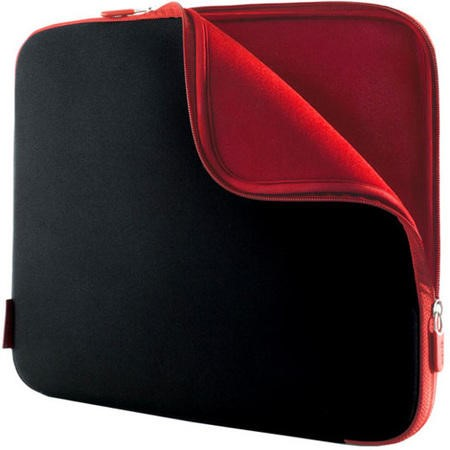 F8N160EABR Belkin 15.6 Laptop SlipCase - Black/Red