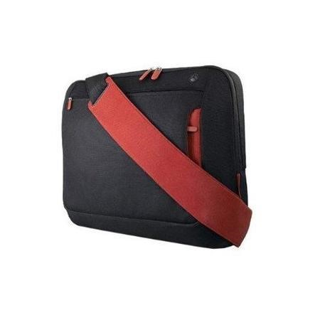 "Belkin 15.6"" Laptop Messenger Bag  - Black/Red"