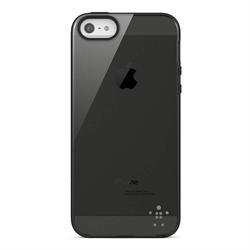 Belkin Translucent Protective Grip Case for Apple iPhone 5 in Black