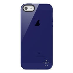 Belkin Translucent Gloss Grip Case for Apple iPhone 5 in Indigo